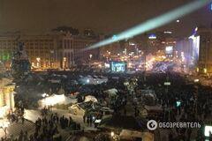 Протестуючі побудували в центрі Києва ще вісім барикад