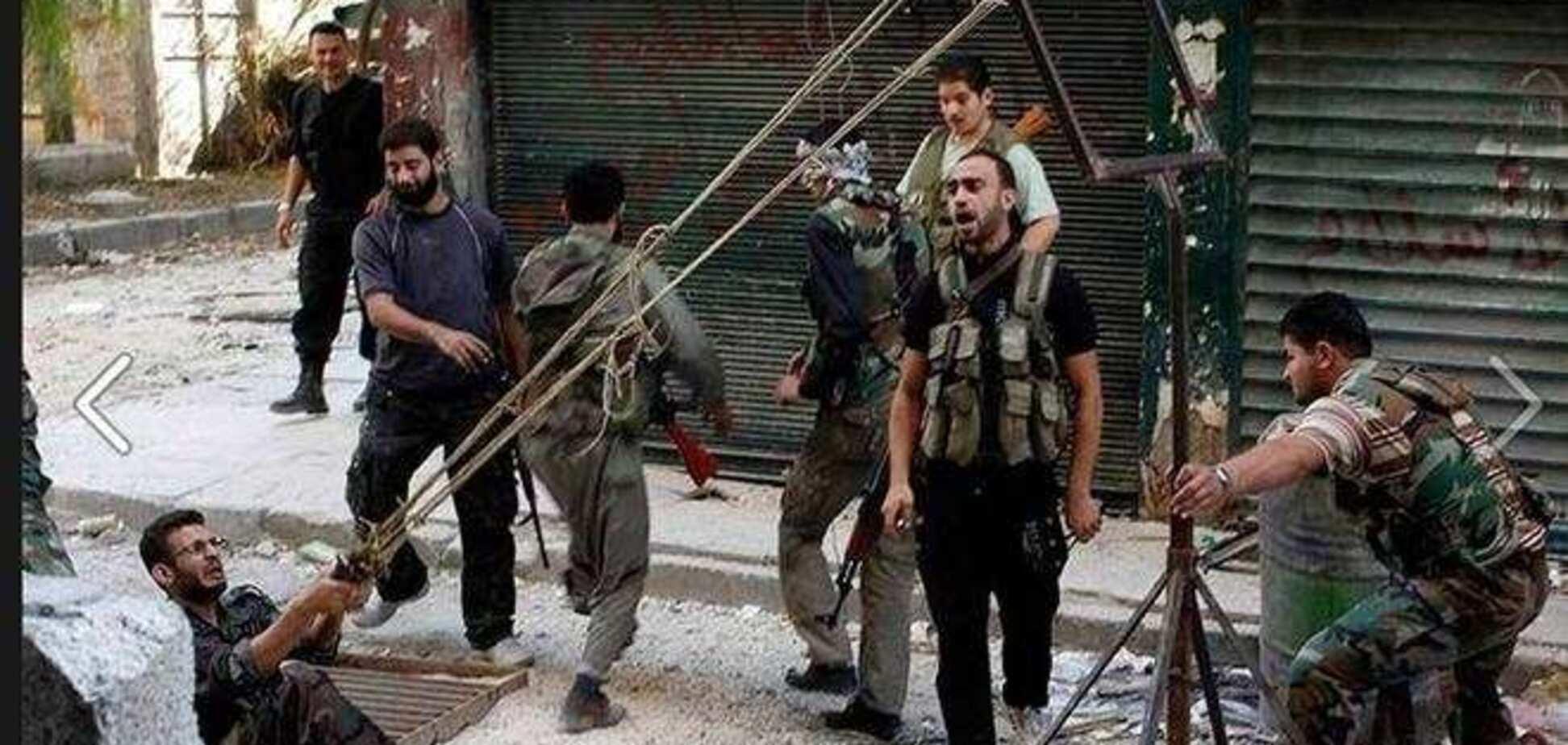 Мегарогатка: методы гражданской войны в Сирии против спецназа Украины