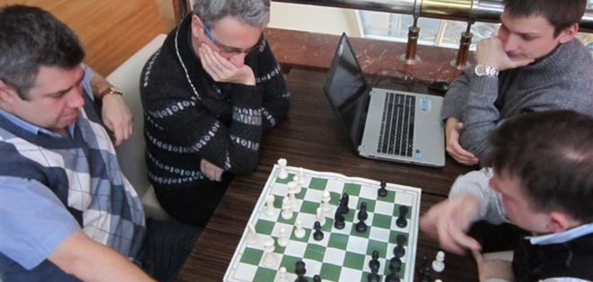 В шахматы - за Европу!