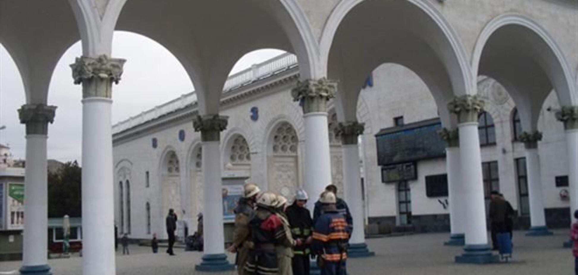 В Симферополе задержали 'минера' поезда
