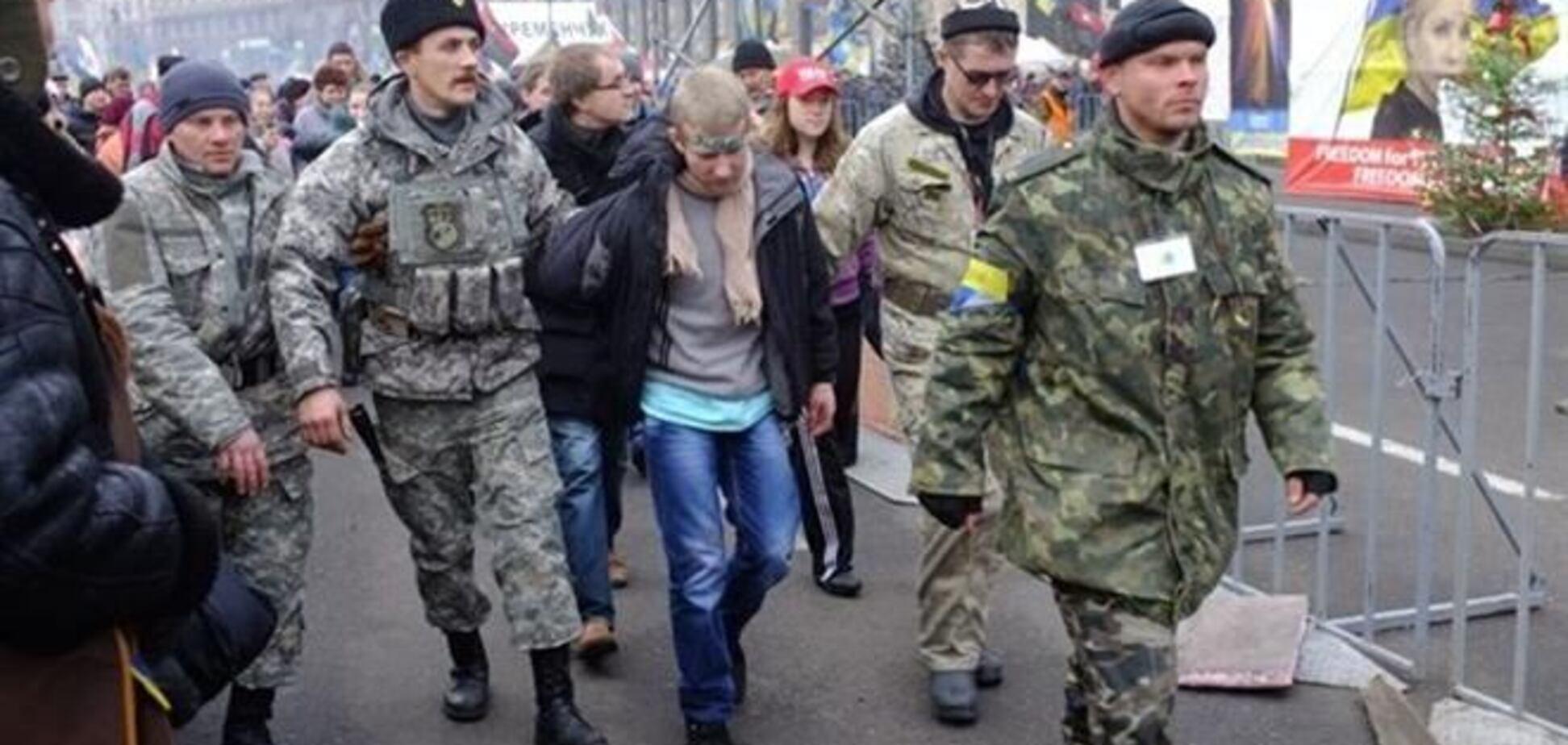 У МВС заперечують те, що затриманий на Майдані злодій є сином начальника РУВС