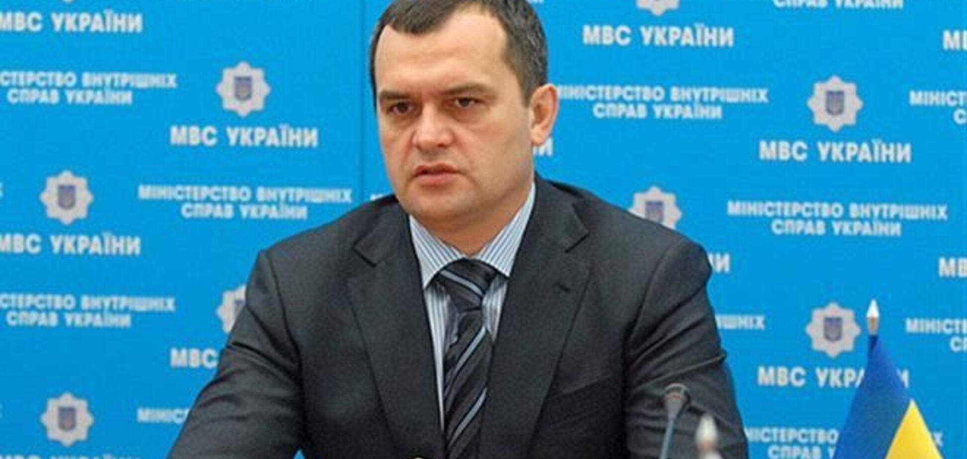 Захарченко: міліція активно шукає останнього підозрюваного у справі Чорновіл