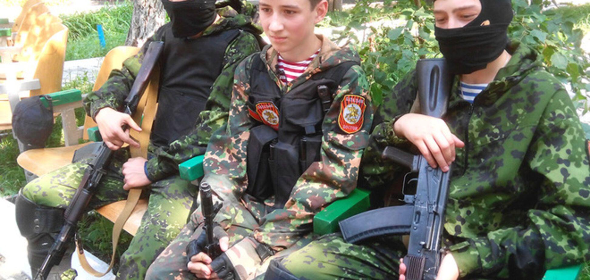 'Премьер ДНР' сознался, что среди террористов есть дети