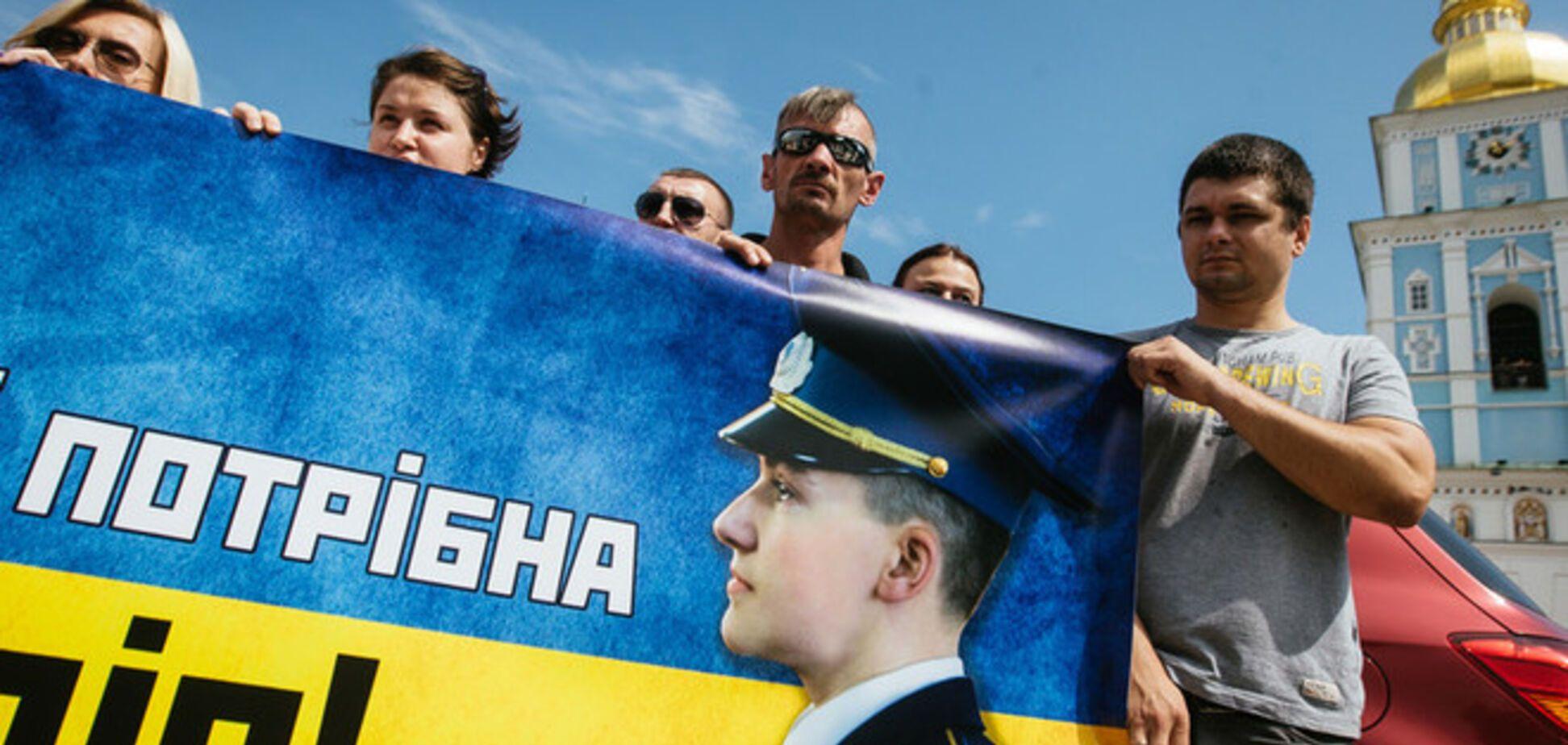 Российские правозащитники официально признали Савченко политзаключенной