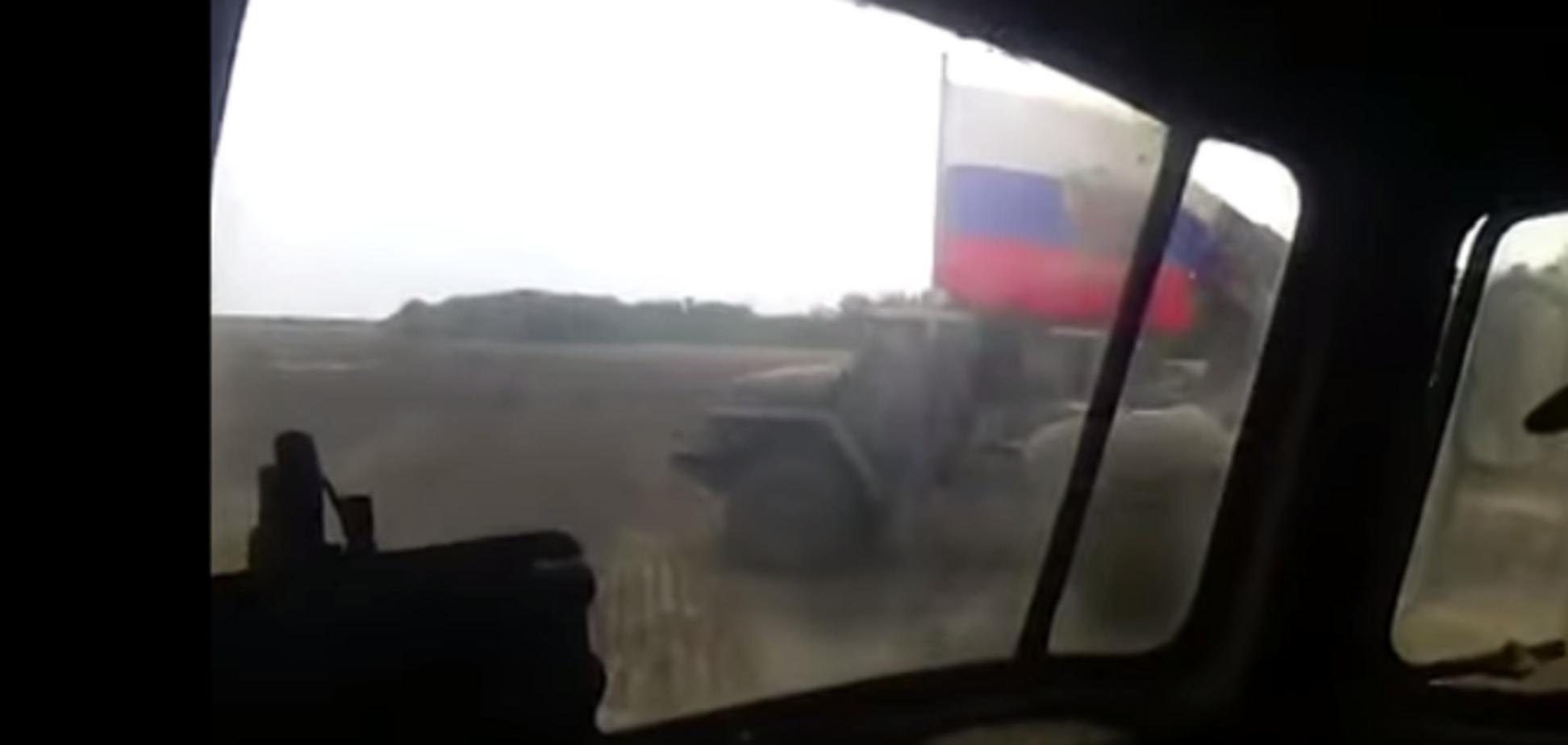 По укроповскому хутору залпом огонь! Появилось видео, как российские боевики расстреливают из 'Градов' украинское село