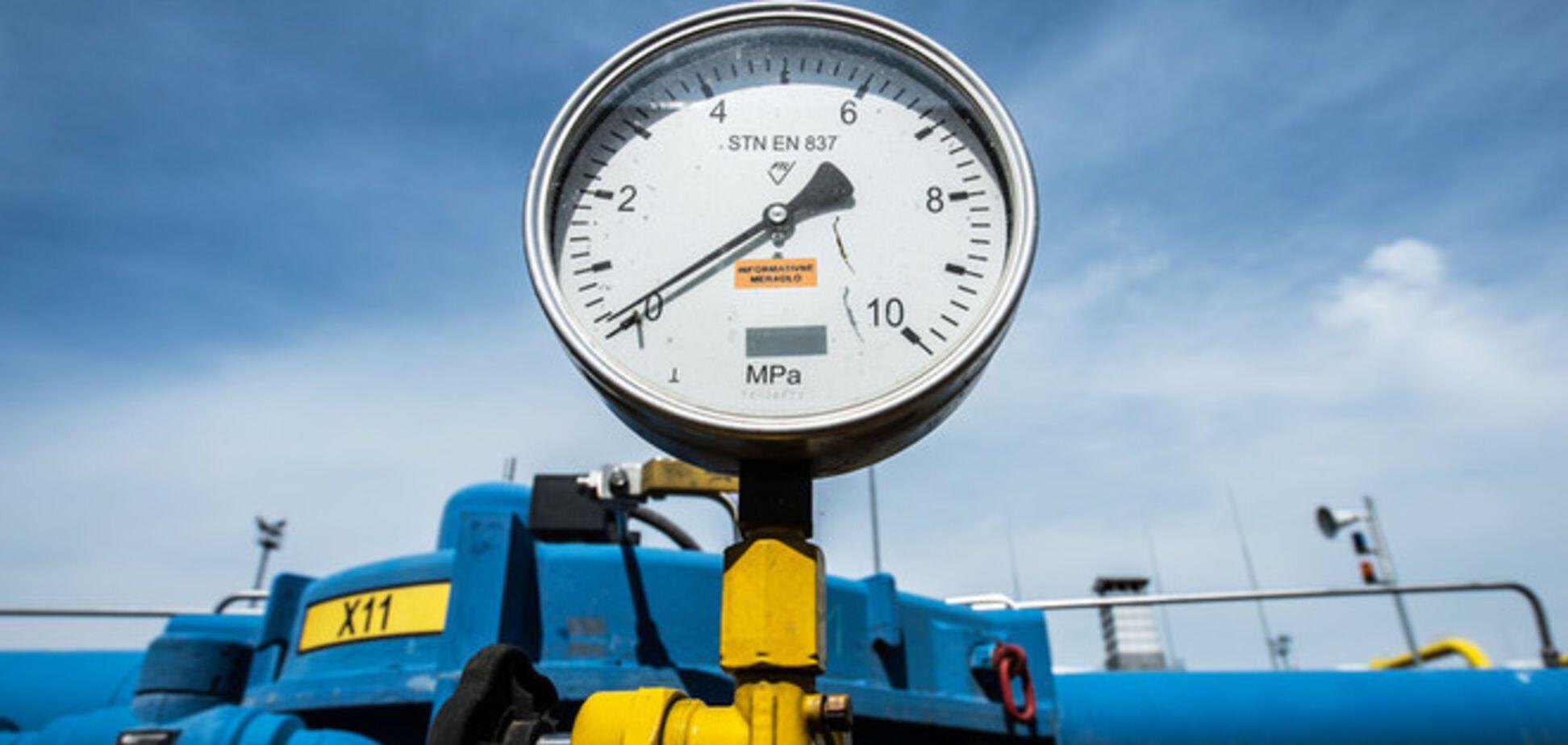 Украина сократила заявку на зимние поставки газа из России