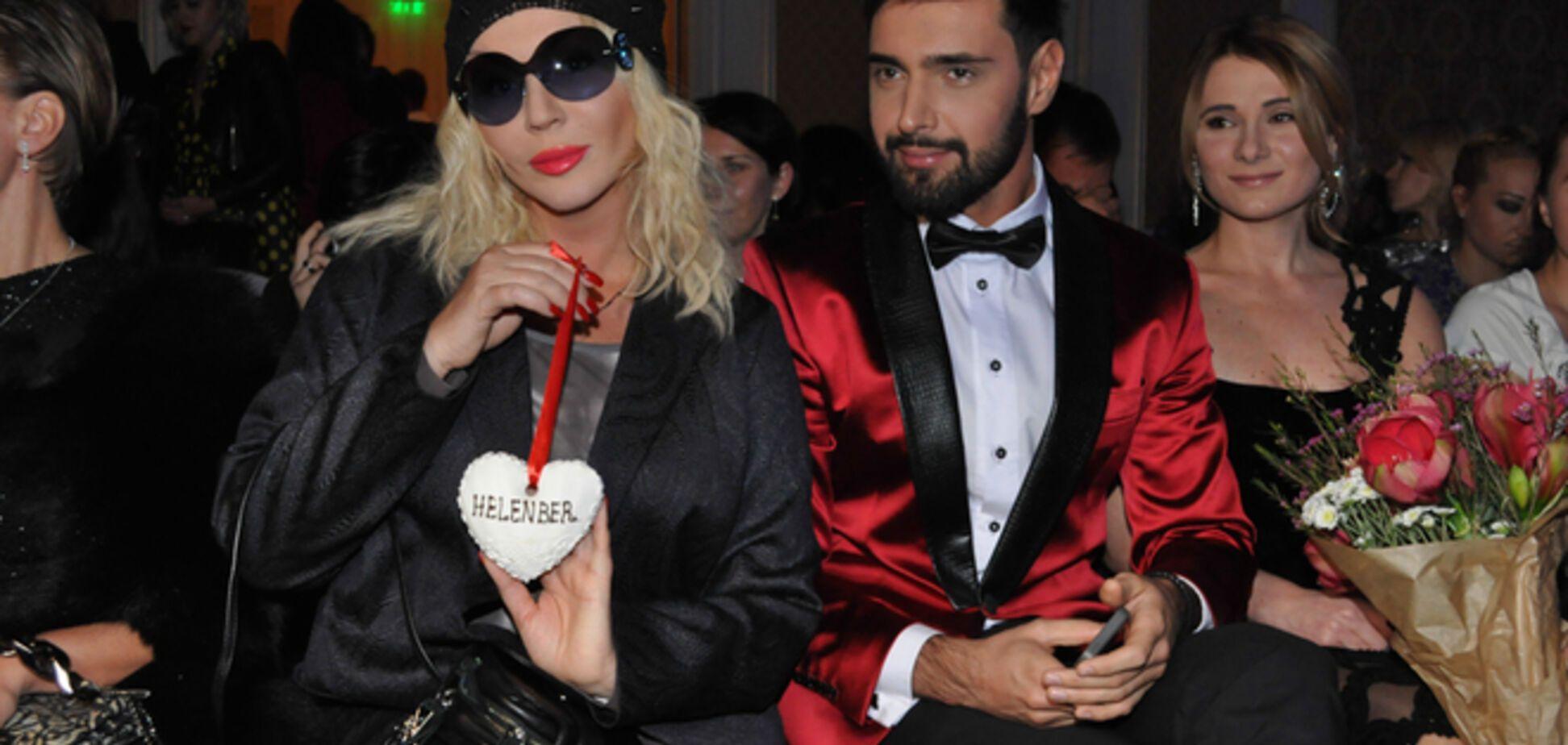 Показ Helenber в Киеве: роскошные вечерние платья и Ирина Билык с куклой