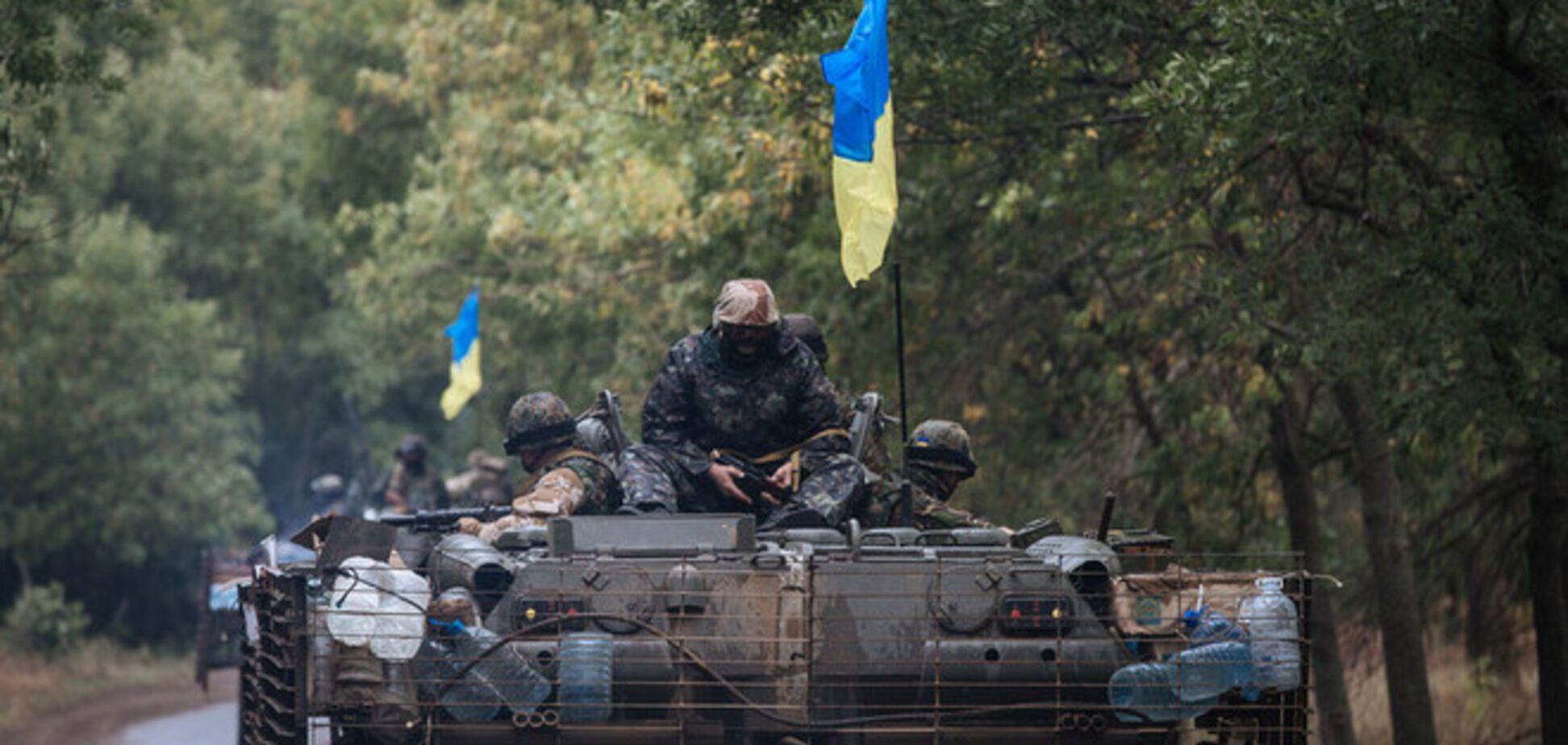 Террористы атаковали 'Градами' блокпосты сил АТО на Луганщине