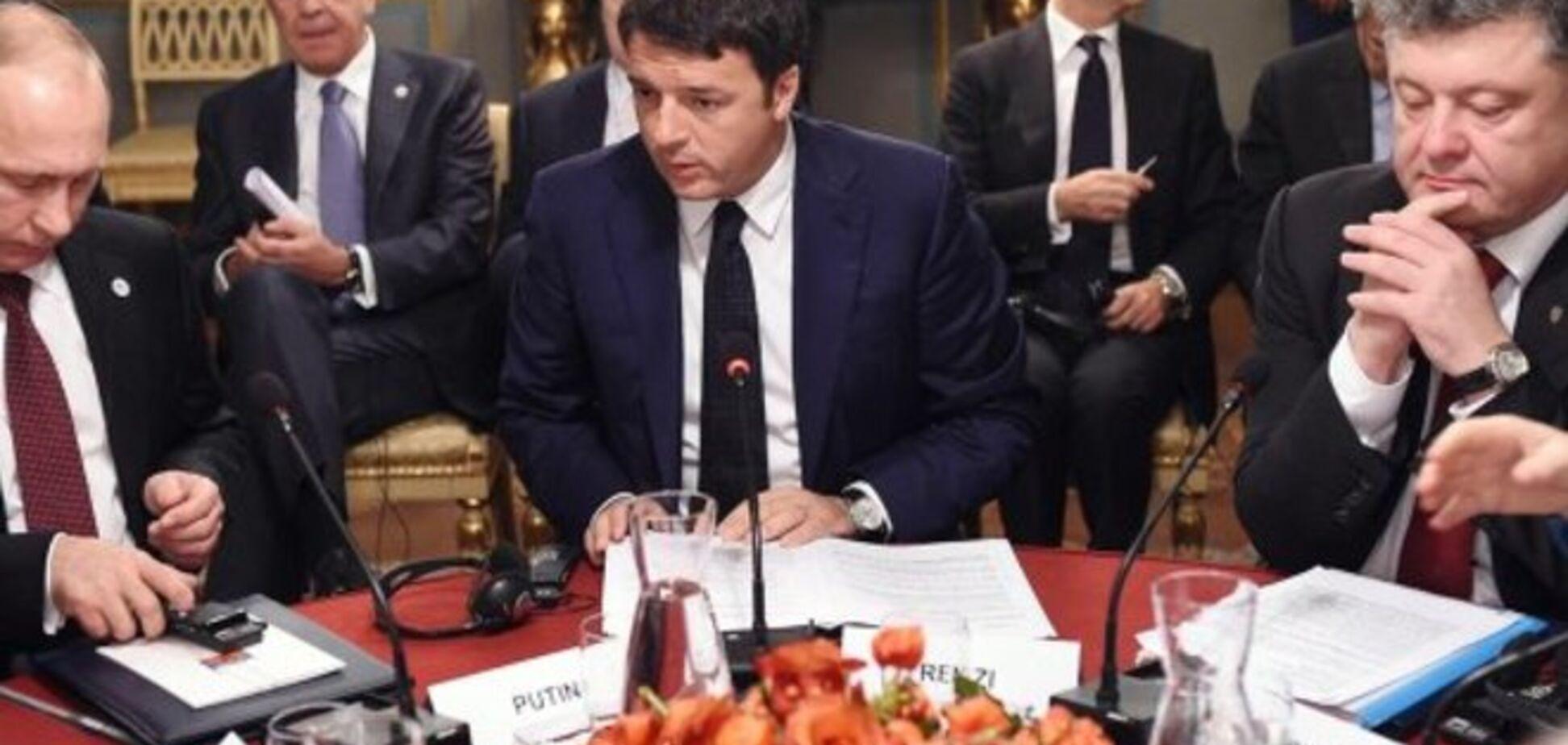 В Милане началась встреча Путина и Порошенко