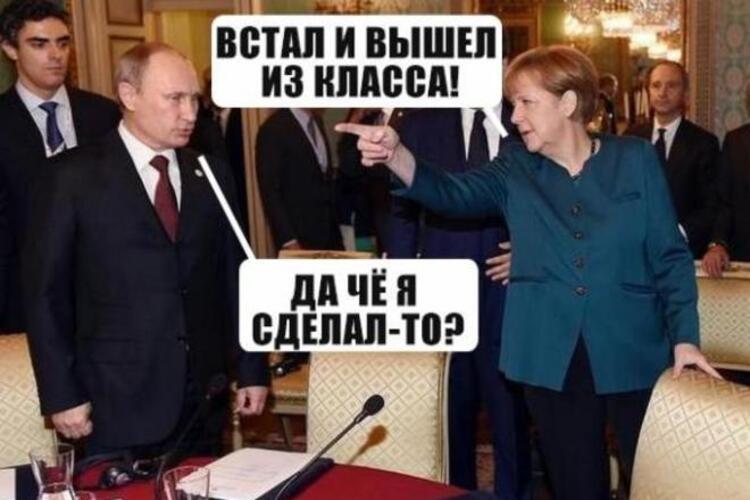 Зустріч Меркель із Путіним, що тривала близько трьох годин, завершилася. Жодних заяв лідери двох країн не зробили - Цензор.НЕТ 557