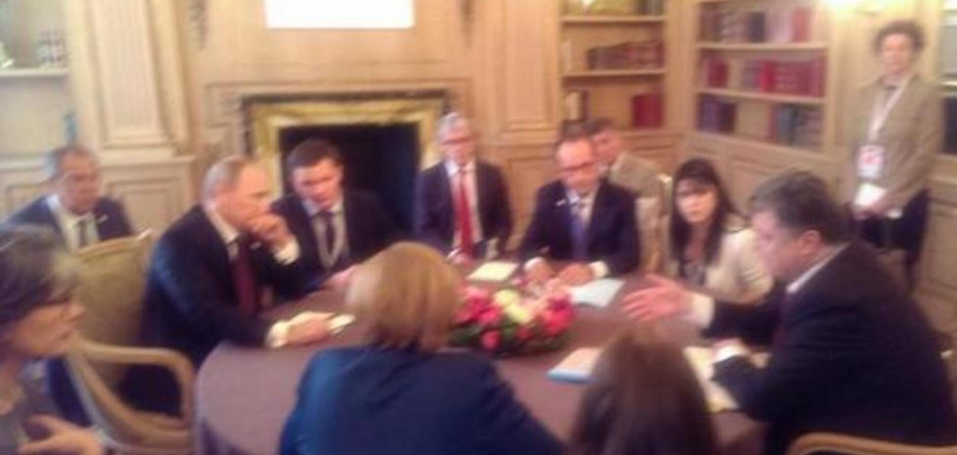 У Мілані розпочалися ще одні переговори Порошенко і Путіна: опубліковано фото