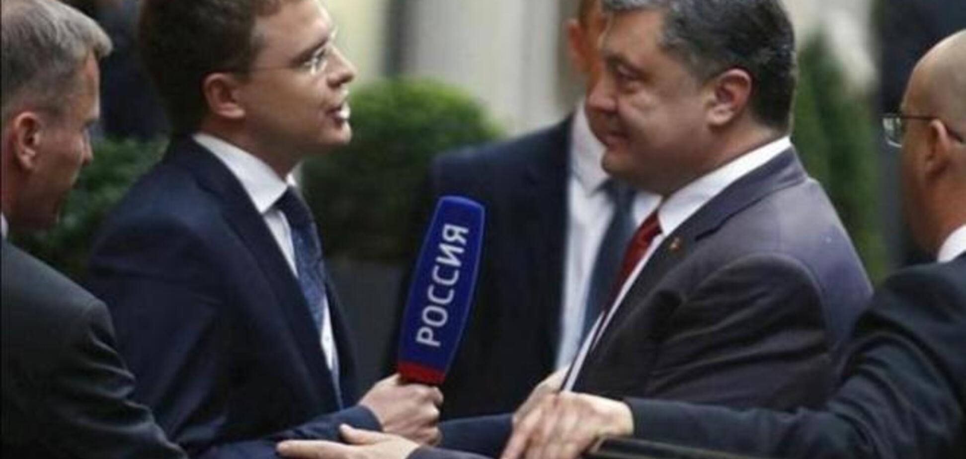 Представителям российских СМИ понадобился переводчик с украинского во время выступления Порошенко