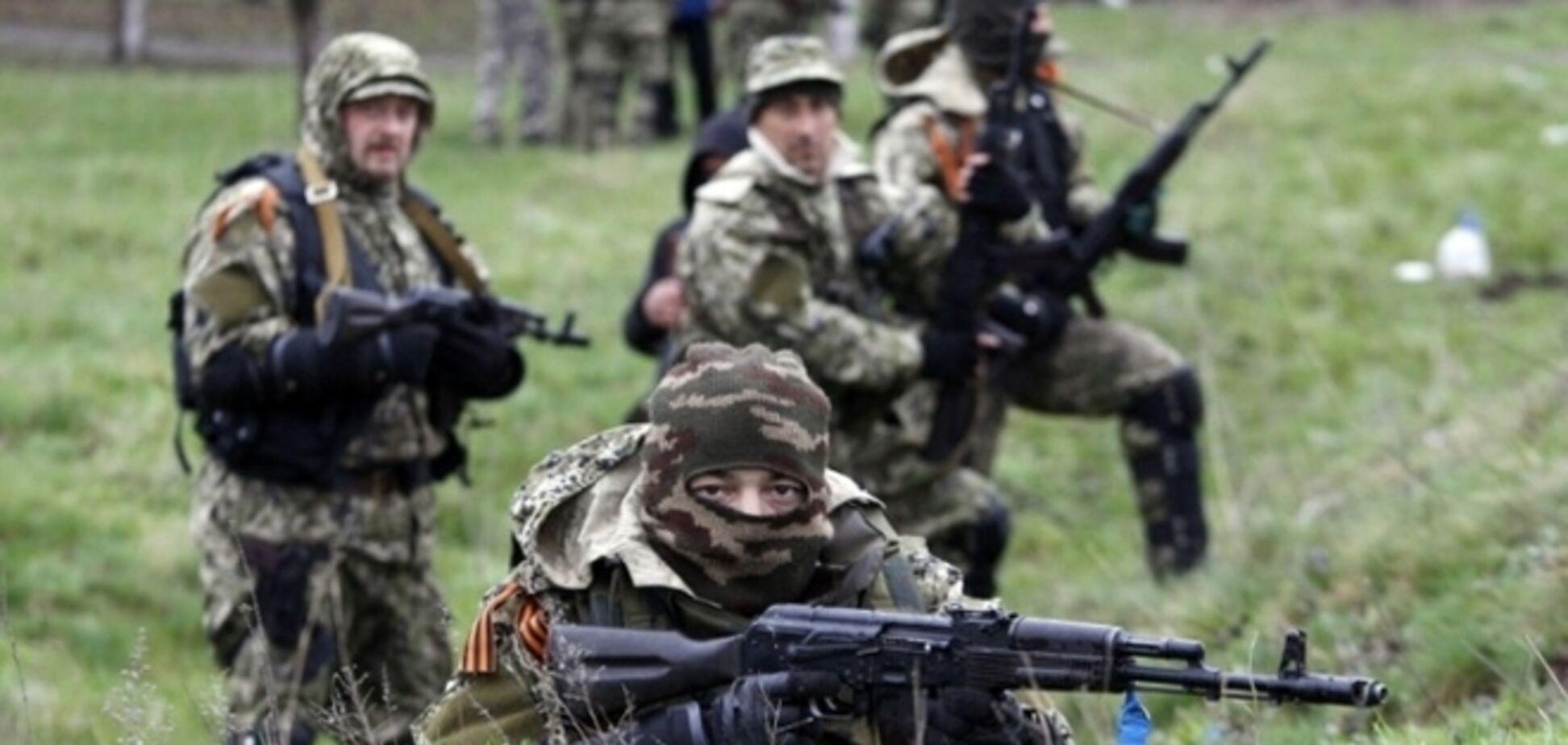Террористы обстреляли из минометов и 'Градов' позиции сил АТО