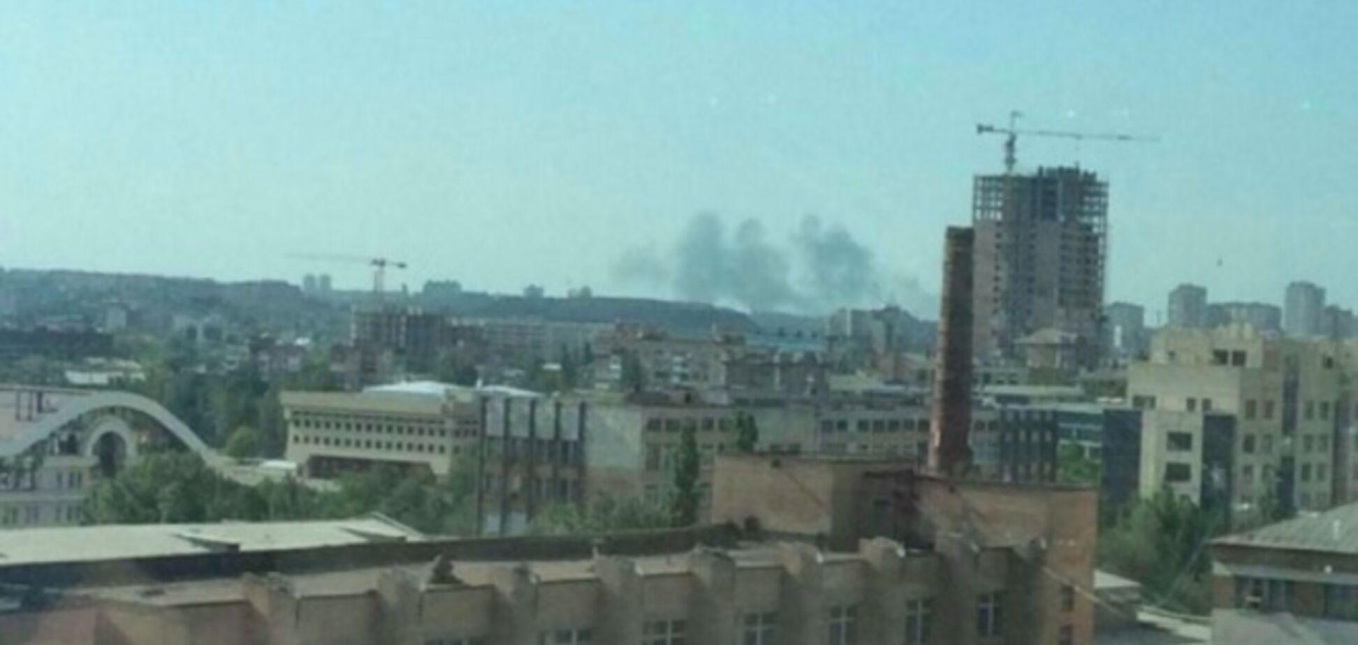 Ситуация в Донецке напряженная: слышны мощные артиллерийские залпы