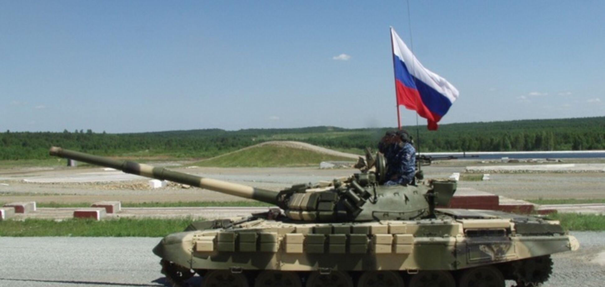 Возле Смелого уничтожен танк террористов - СНБО