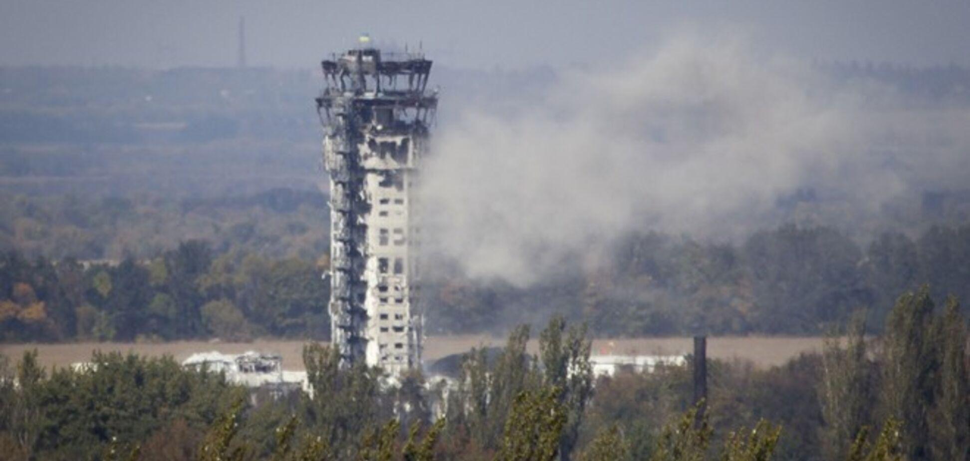Утренняя атака донецкого аэропорта закончилась массовой гибелью террористов-пехотинцев