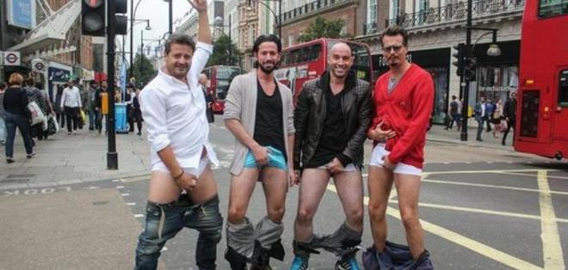 Новый флешмоб без обливаний и капиталовложений #FeelingNuts захватил мужчин всего мира
