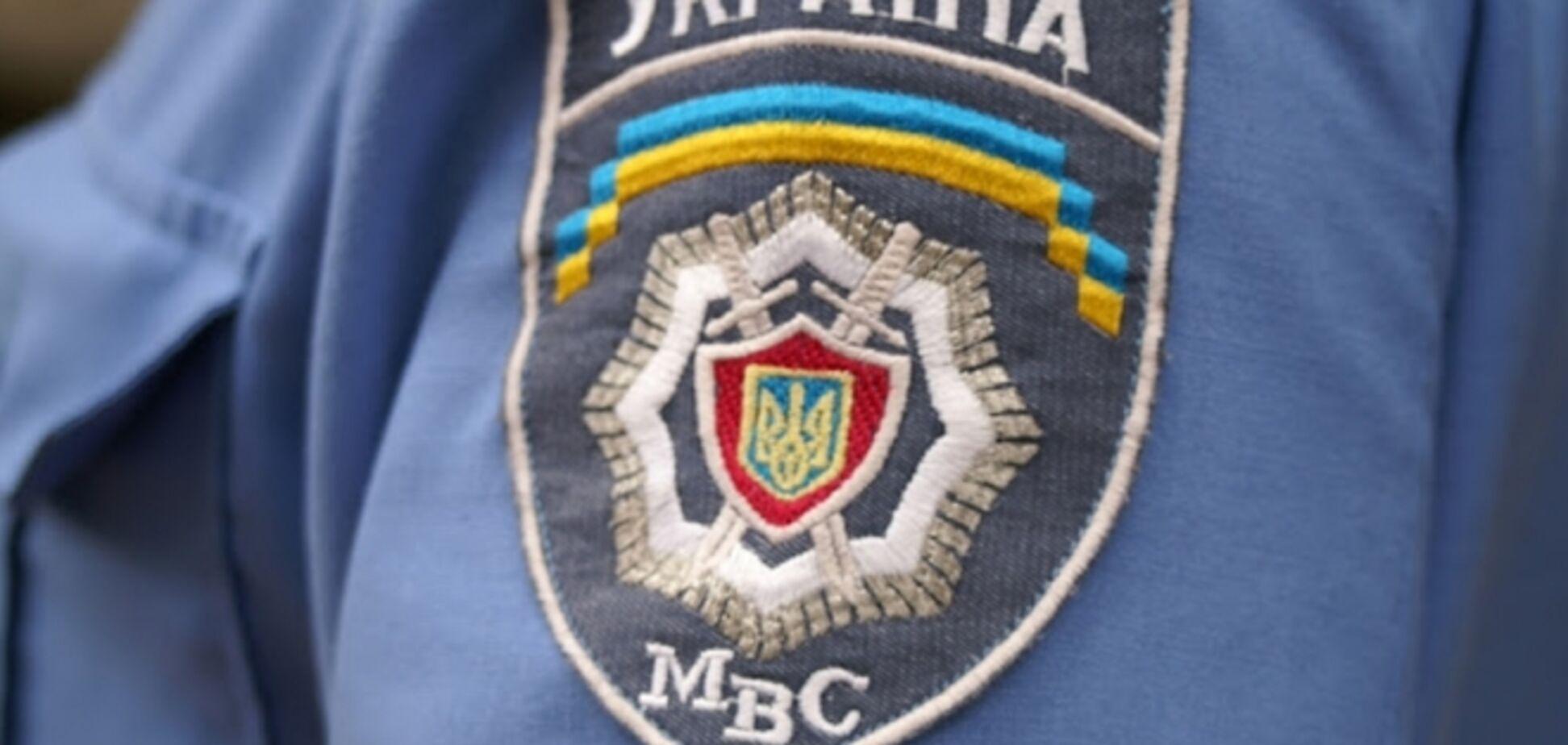 В Киеве в банке застрелился милиционер