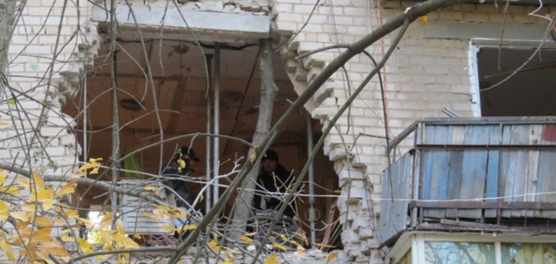 Милиция расследует взрыв дома в Мелитополе как 'умышленное уничтожение имущества'