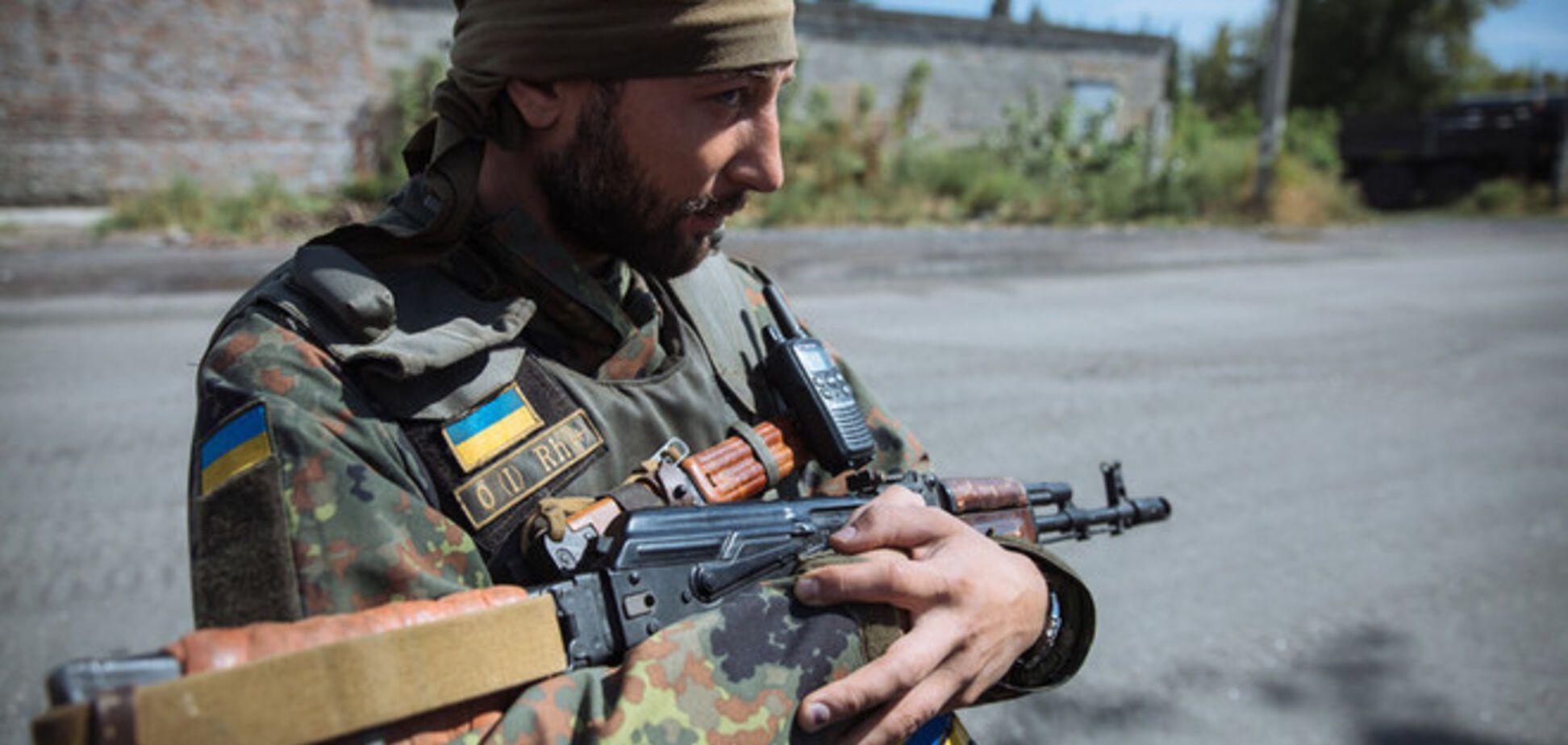 Бойцы АТО уничтожили блокпост террористов на Луганщине