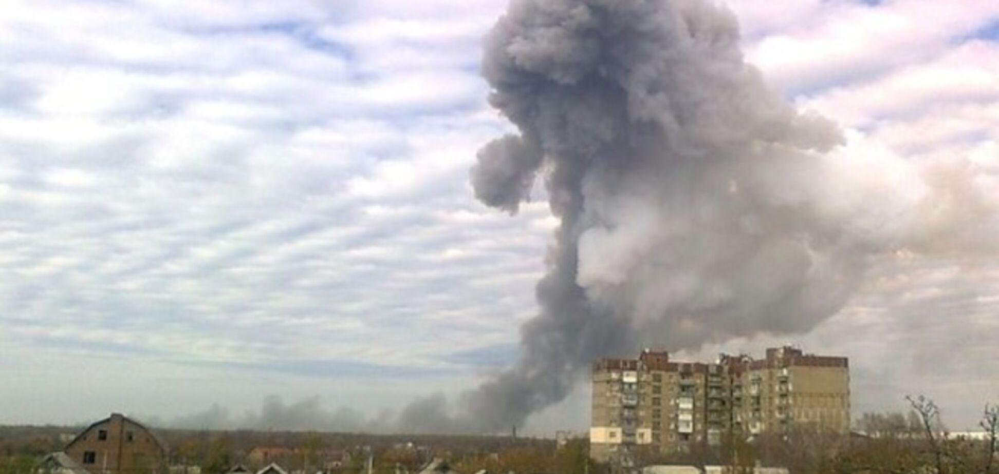 Партизаны в Донецке взяли ответственность за сегодняшний взрыв и объявили о начале 'бомбо-квэста' с террористами