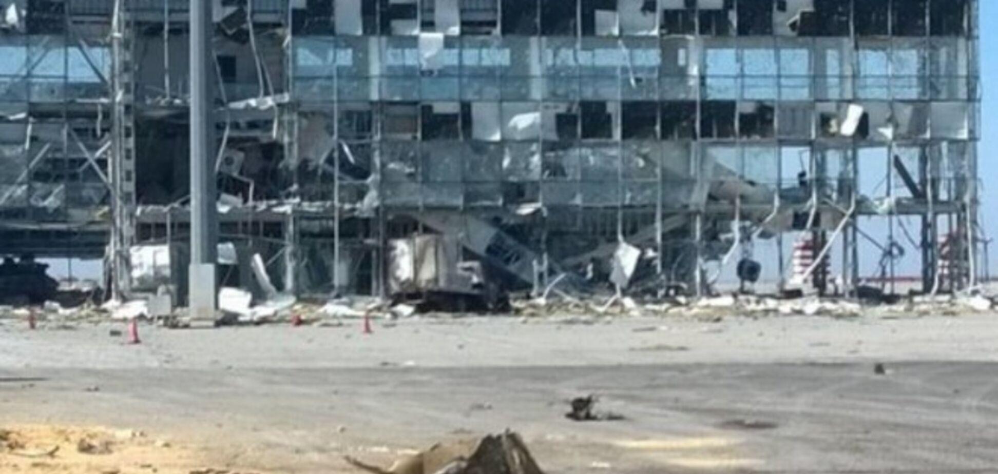Террористы не обстреливали донецкий аэропорт в воскресенье - спикер АТО