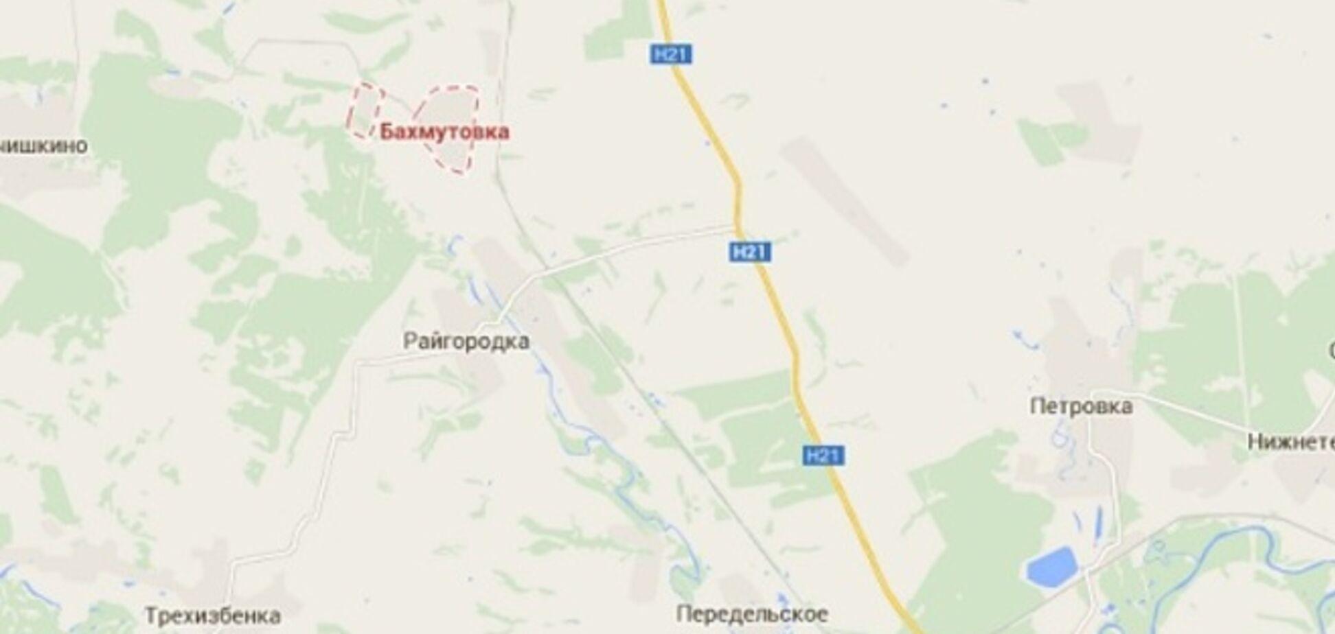 Террористы пытаются взять контроль над территорией вдоль Северского Донца