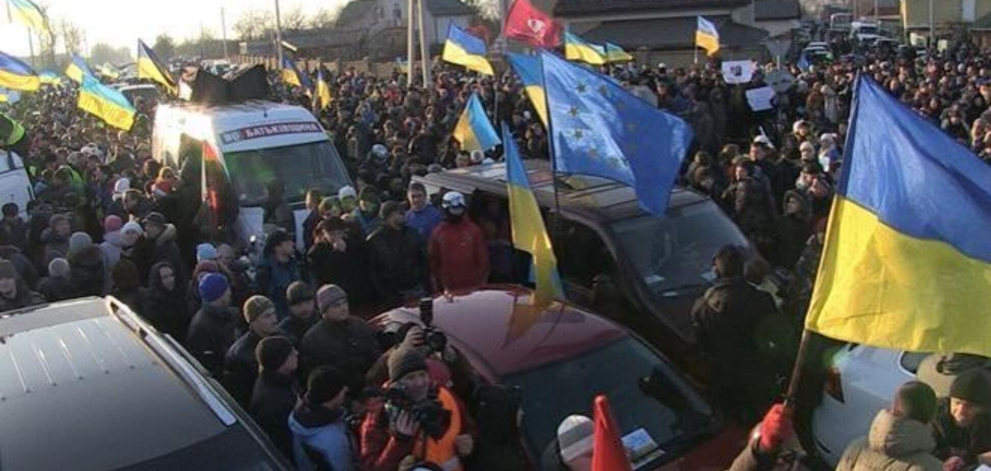 В Киеве за преследование Автомайдана будут судить гаишников
