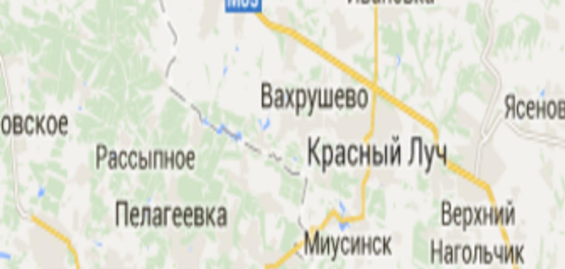 Жители Ровеньков видели, как несколько колонн военной техники террористов передвигалась по городу