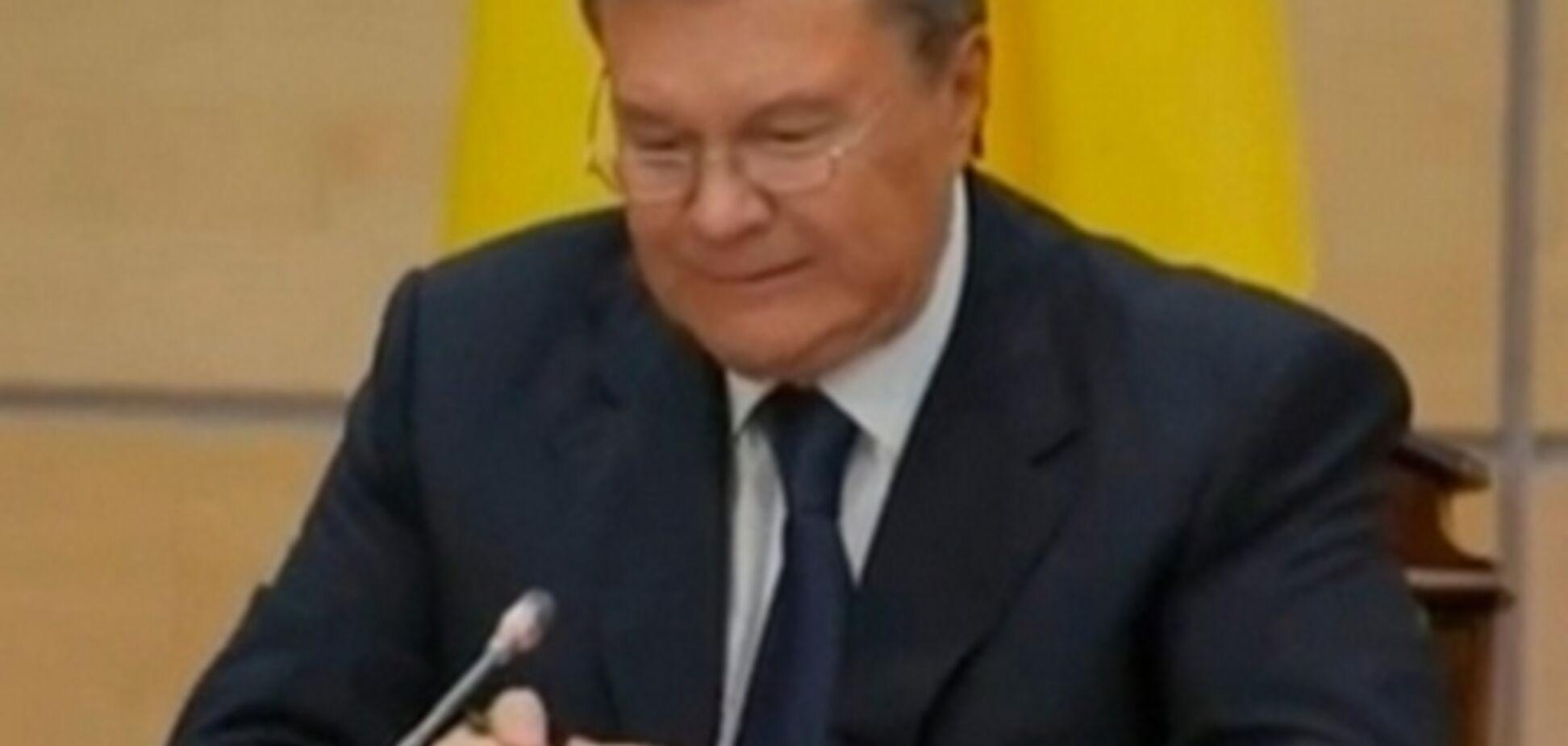 Янукович и компания могут дождаться отмены санкций не раньше 2018 года