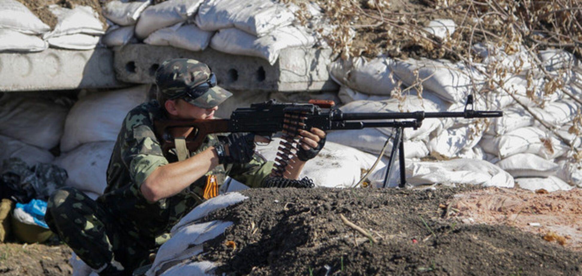 Террористы атаковали блокпост сил АТО: ранен украинский военный
