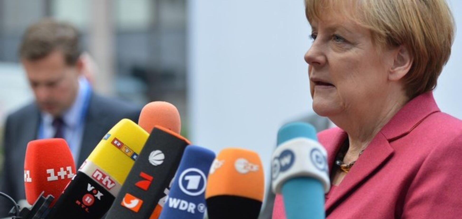 Меркель призвала ЕС помочь Украине с оплатой российского газа