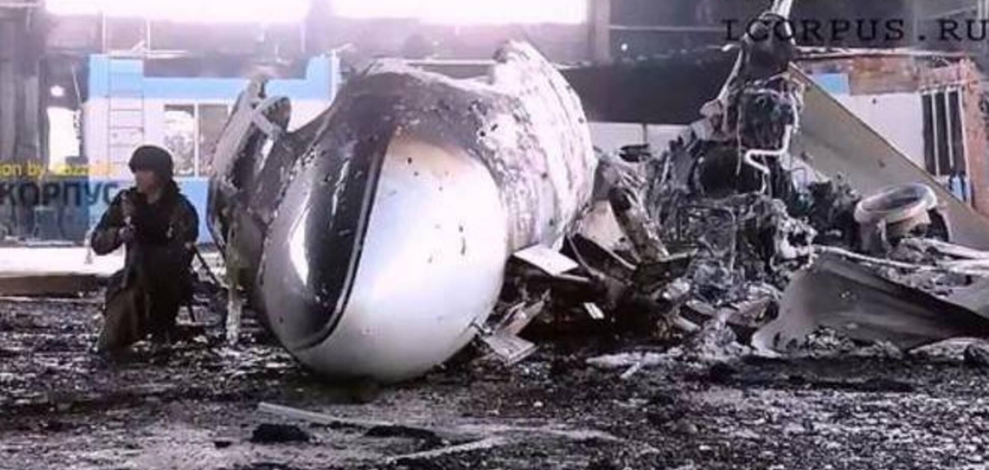 В соцсетях сообщили об уничтоженном самолете Ахметова в аэропорту Донецка