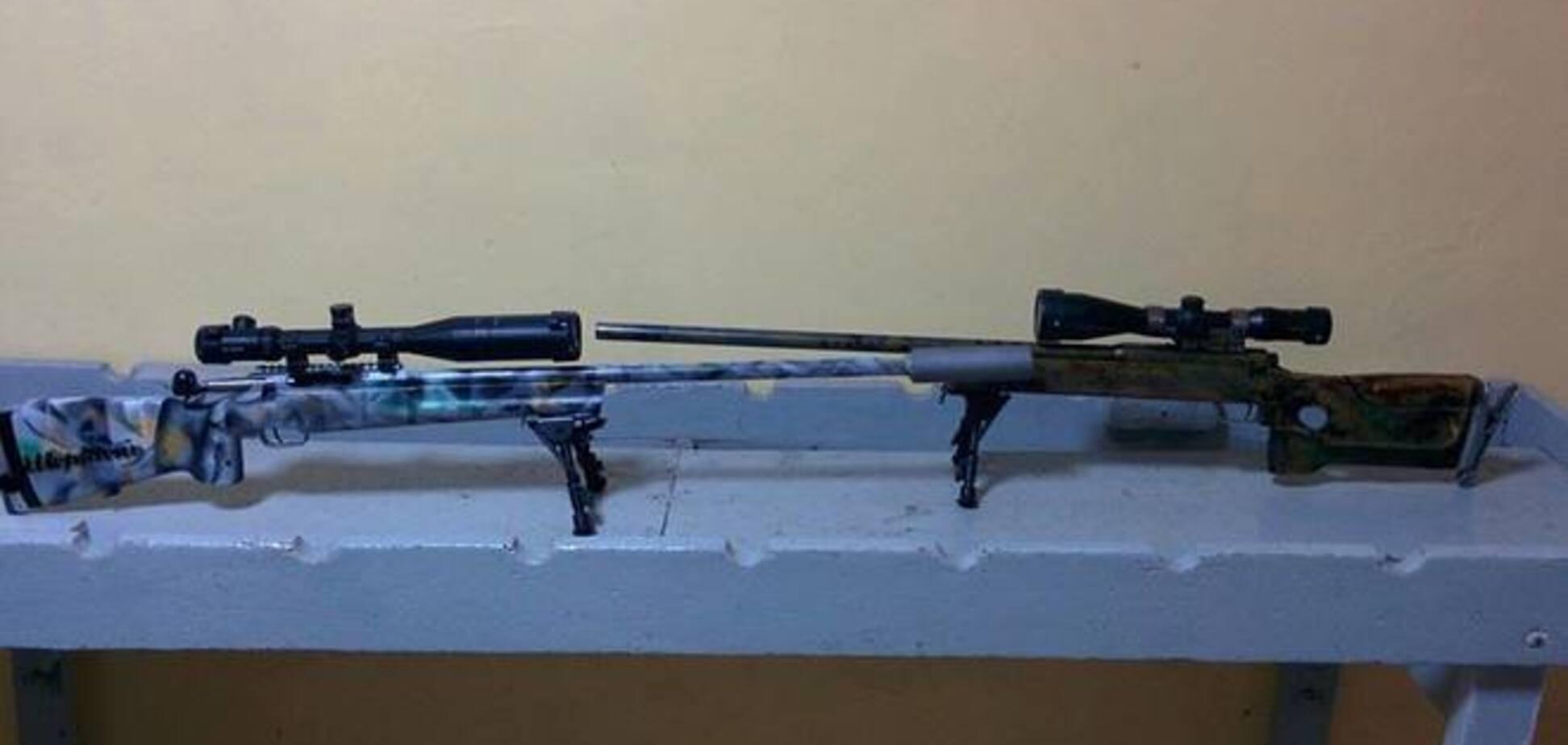 Волонтеры в память о погибшем герое АТО модернизировали шесть винтовок 'Рекорд': опубликованы фото