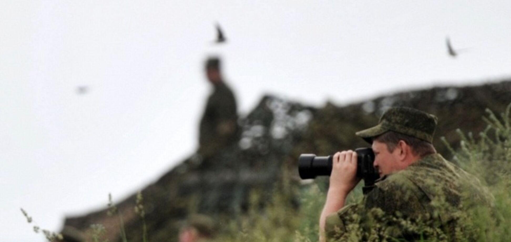 Российская армия оборудовала позиции в Донецкой области
