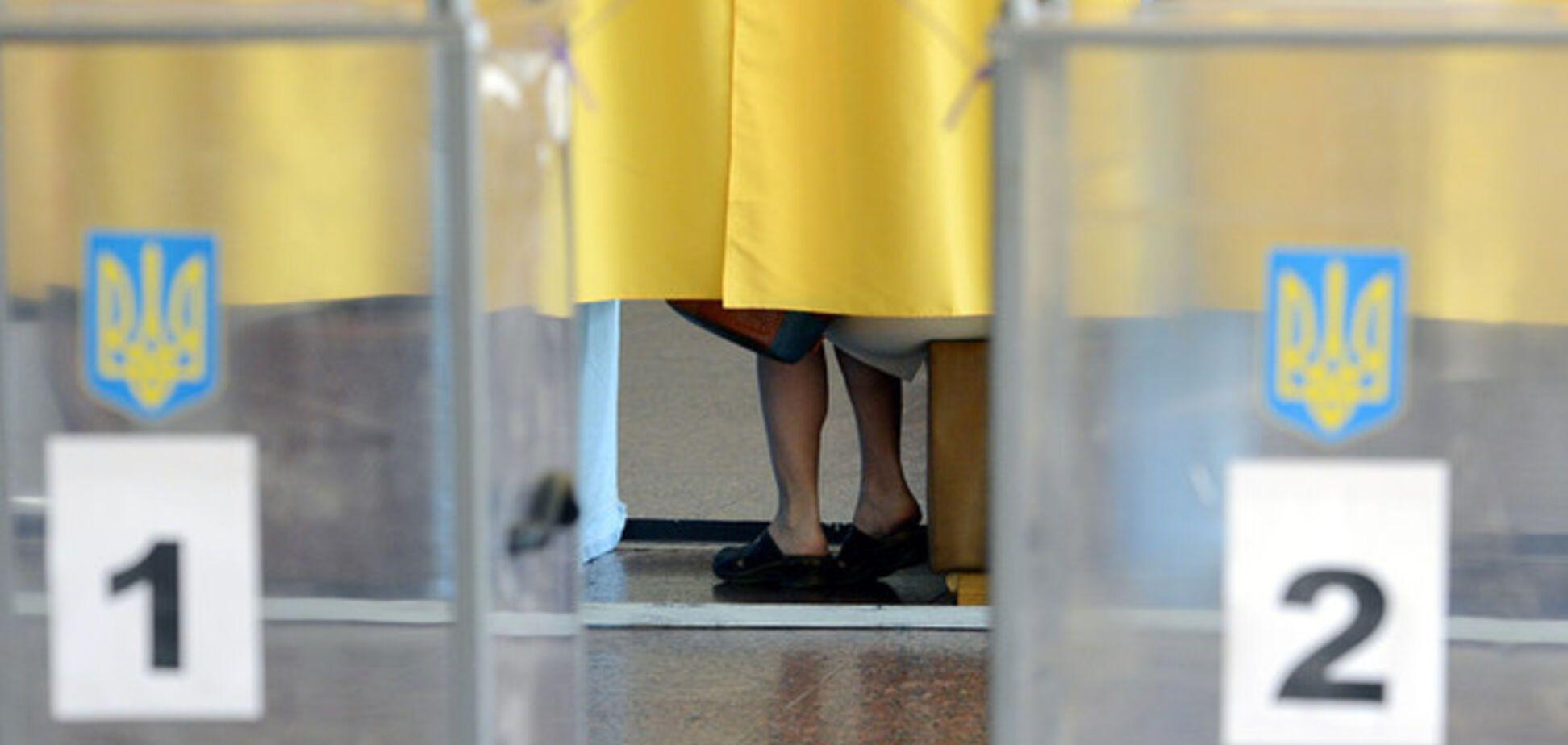 В Украине проходят внеочередные парламентские выборы