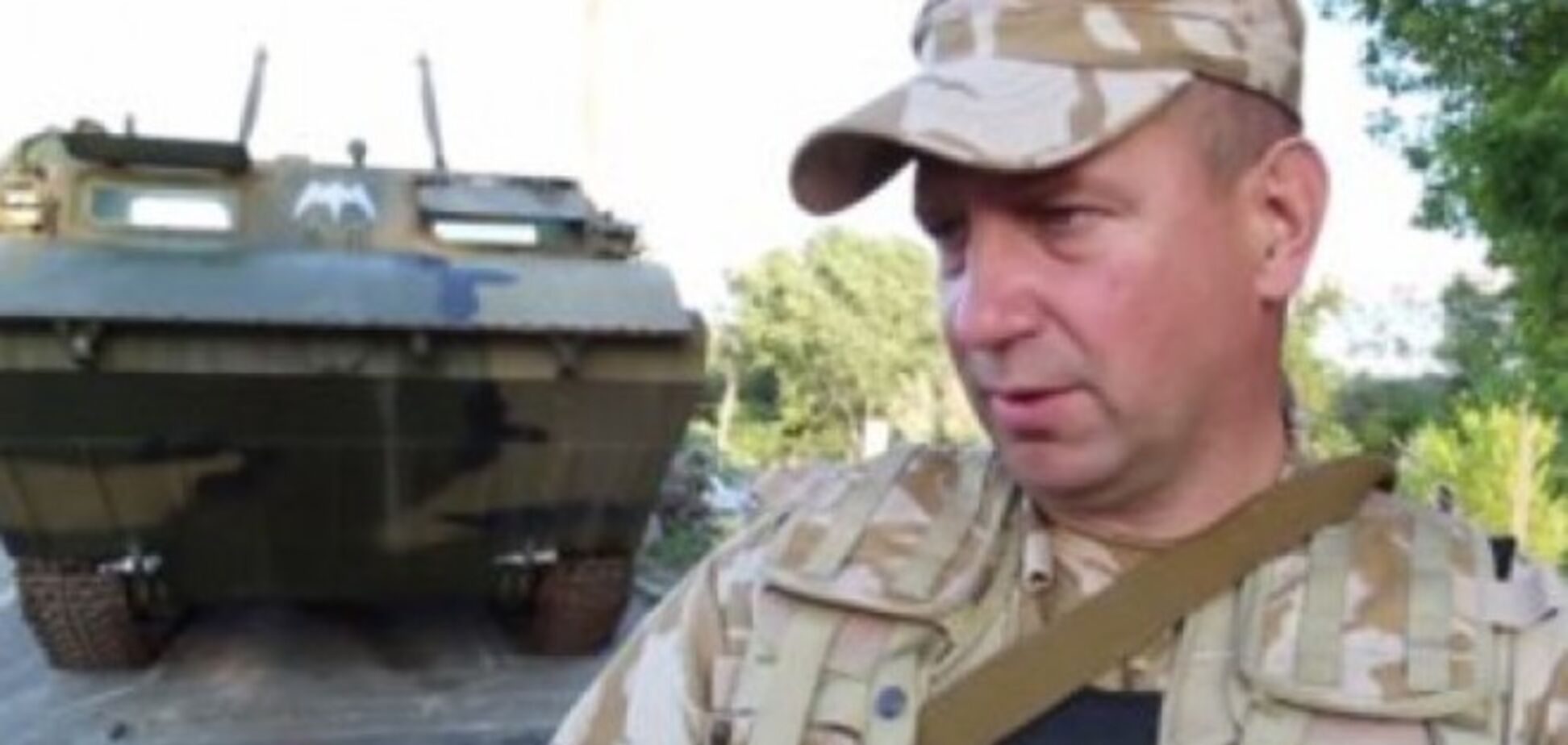 Комбат 'Айдара': первое, что сделаю в Раде - набью морду Семенченко