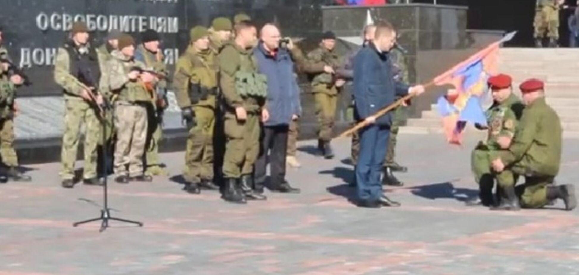 В Донецке боевики 'ДНР' провели парад