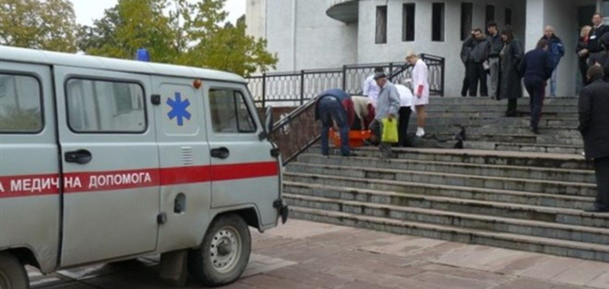В Украине на избирательных участках произошло три смертельных случая
