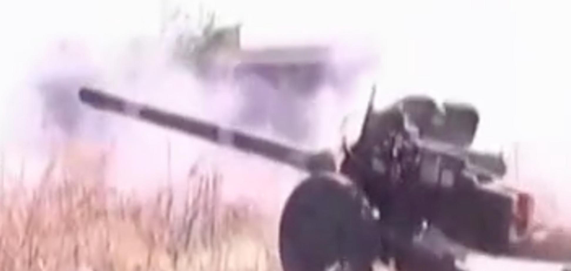 В Донецком аэропорту украинские танкисты уничтожили базу террористов
