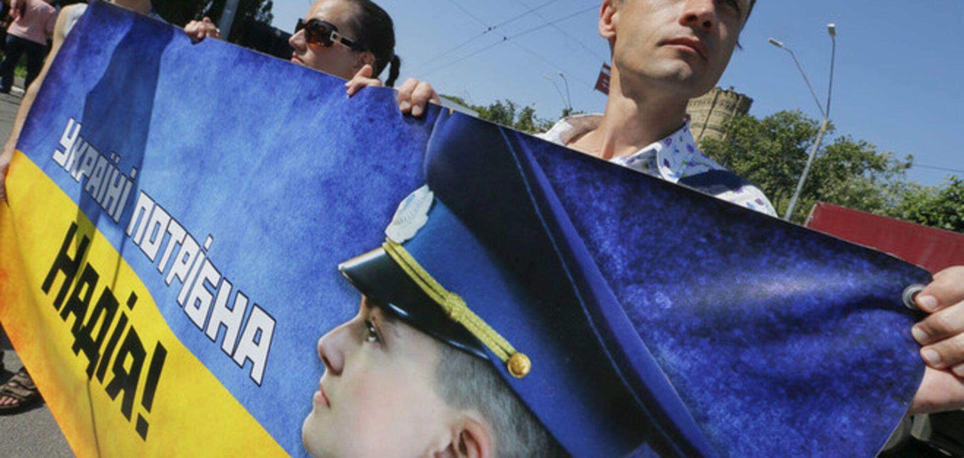 Московский суд продлил арест Савченко до 13 февраля
