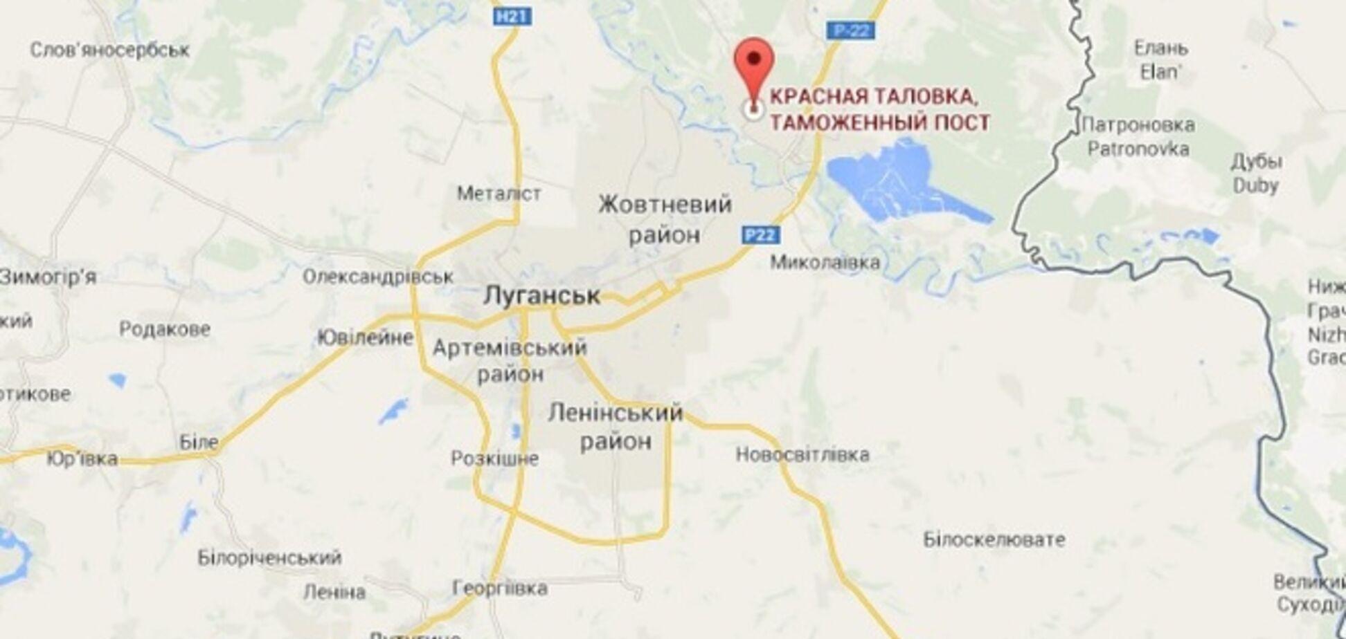 Украинские бойцы возле Таловки разгромили террористов и подбили их танк – пресс-центр АТО