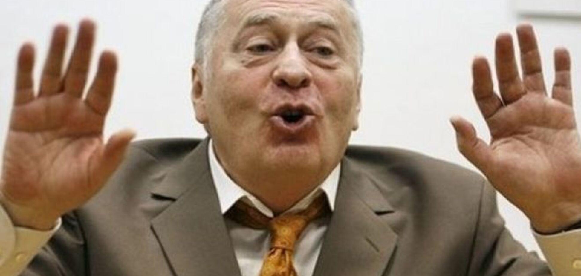 Жириновский 'проспонсировал' Гиви и Моторолу на $300 тыс.
