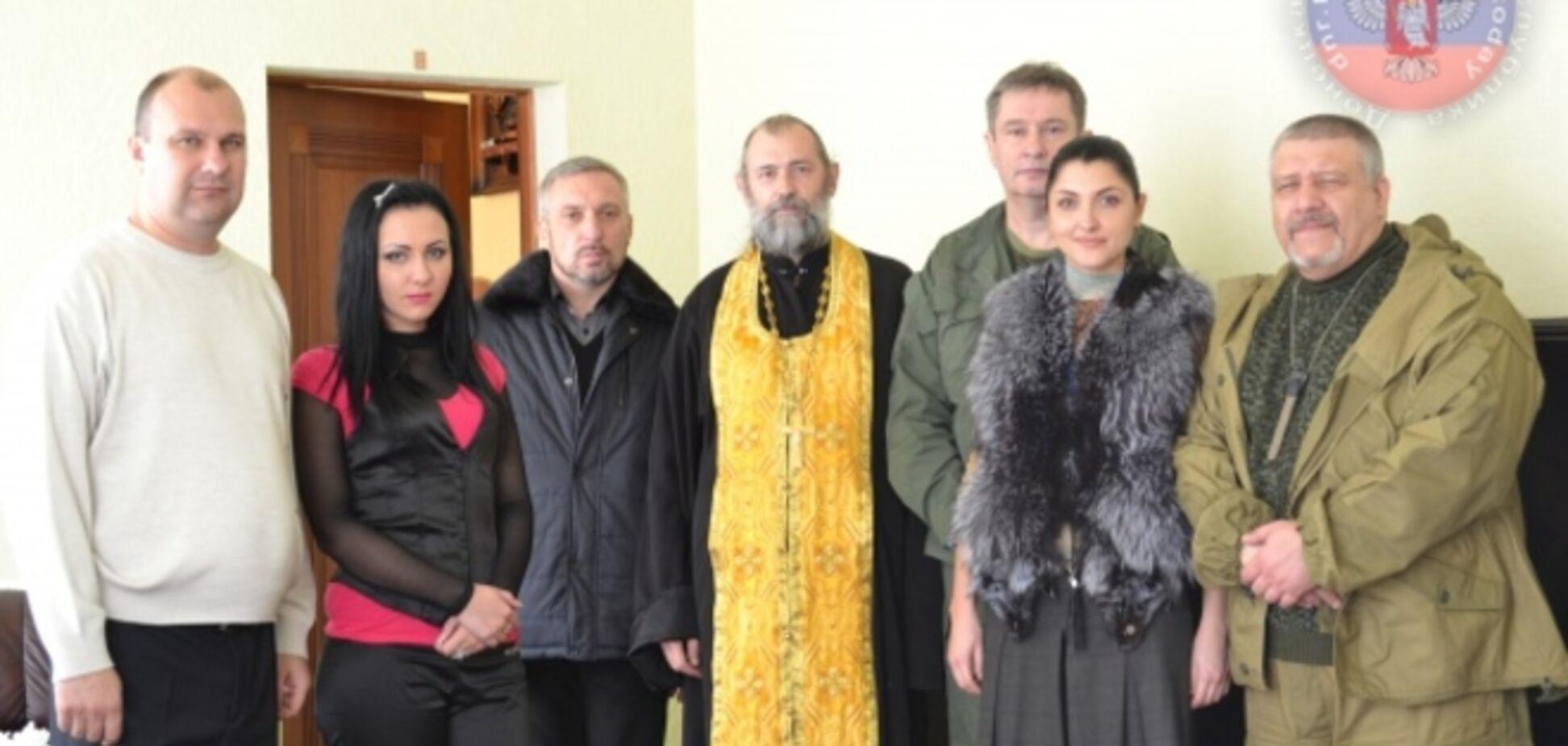 Московское православие: священник УПЦ МП освятил 'верховный суд' и 'генпрокуратуру' 'ДНР'