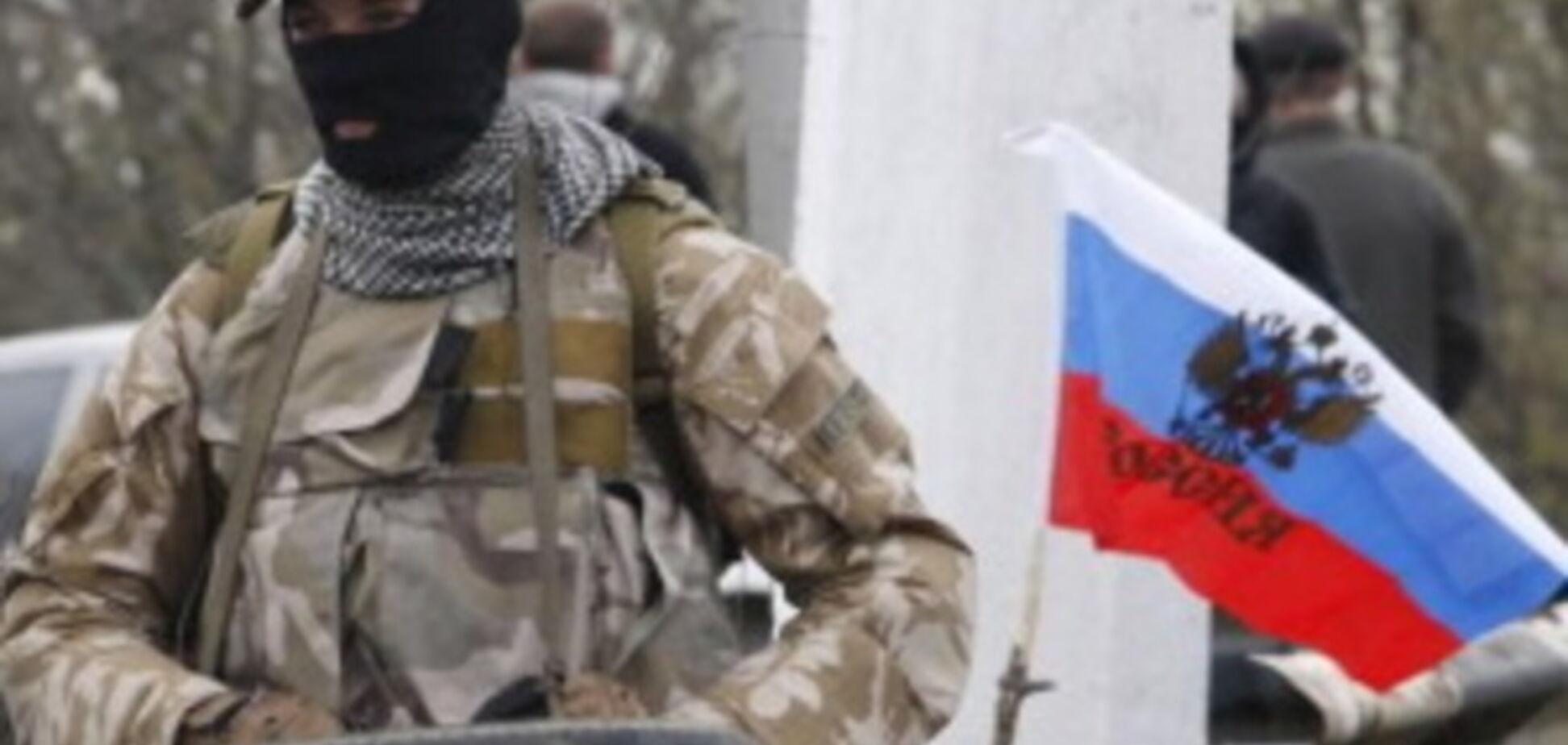 Террористы захватили админздание под Мариуполем