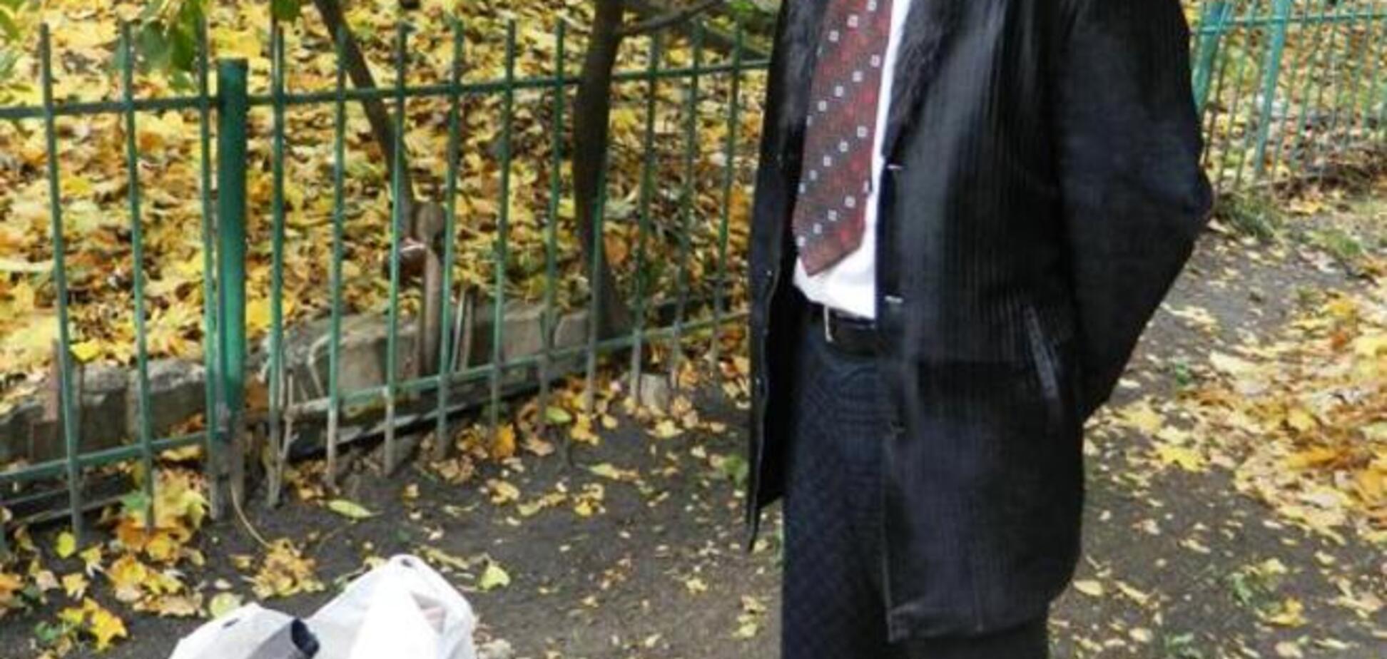 В Киеве задержали домушников в галстуках