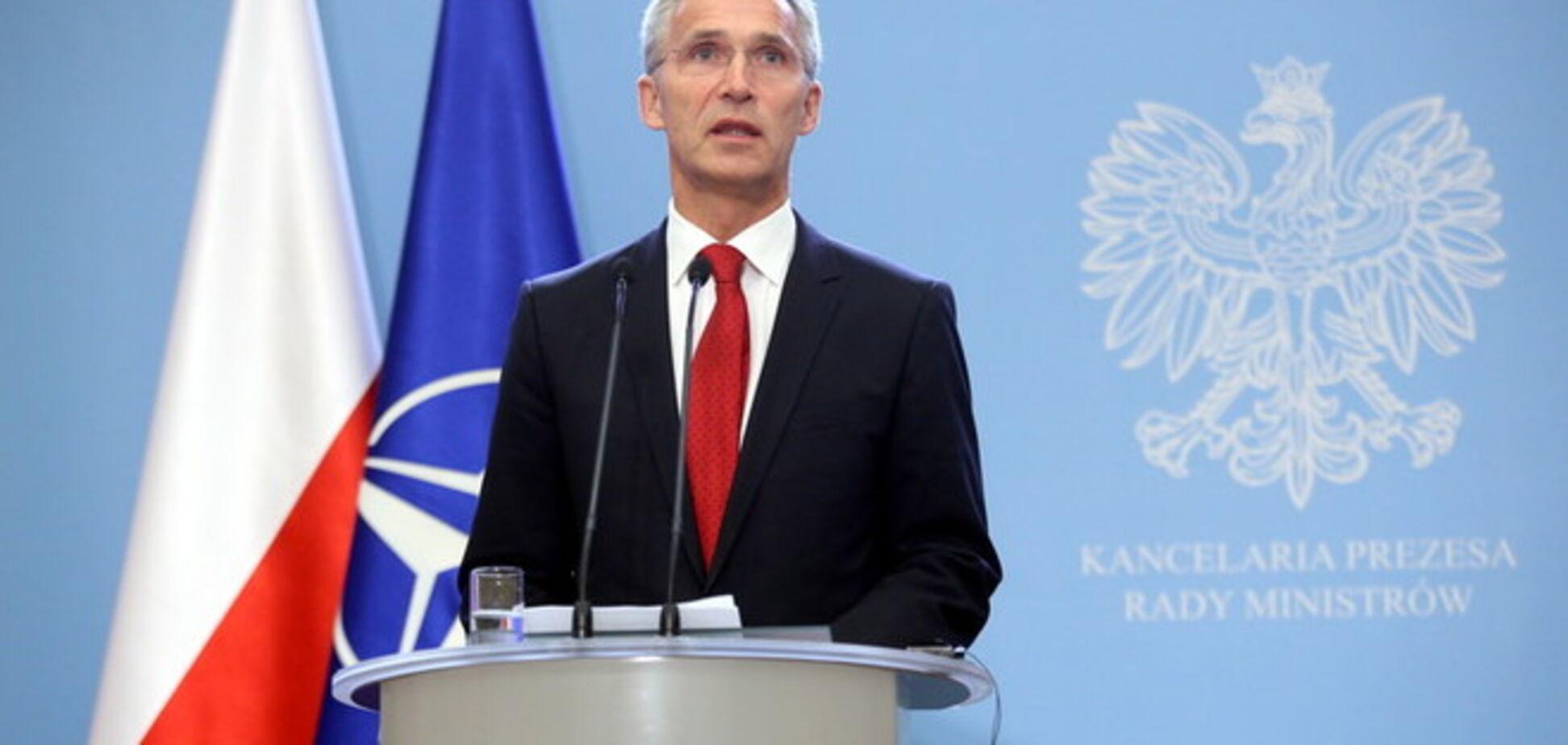 'Выборы' террориcтов подрывают Минские договоренности - генсек НАТО