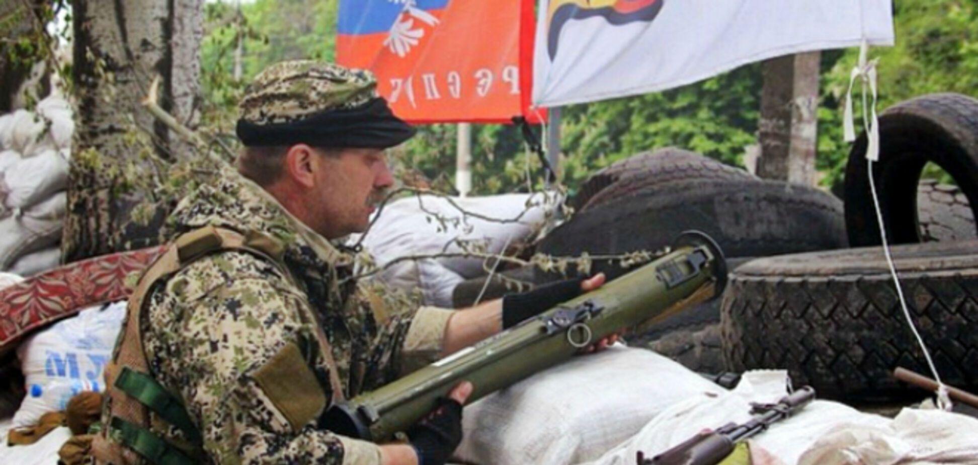 Ночью боевики обстреливали из 'Градов' позиции сил АТО и населенные пункты