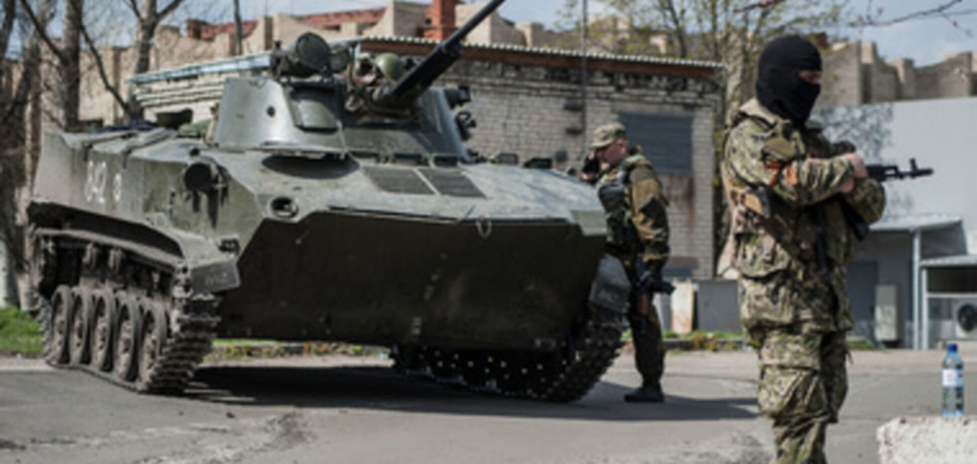 Бойовики захопили приміщення декількох держпідприємств Донеччини під стоянку для своєї військової техніки