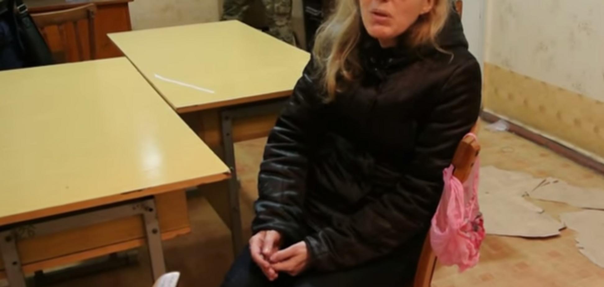 На 'округе-призраке' сняли видео, как член ИК прятала под собой улики